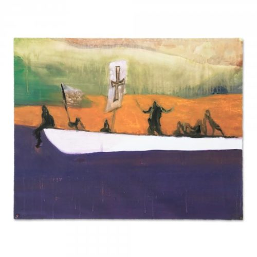Canoe by Peter Doig at