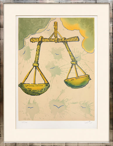 Libra by Salvador Dali