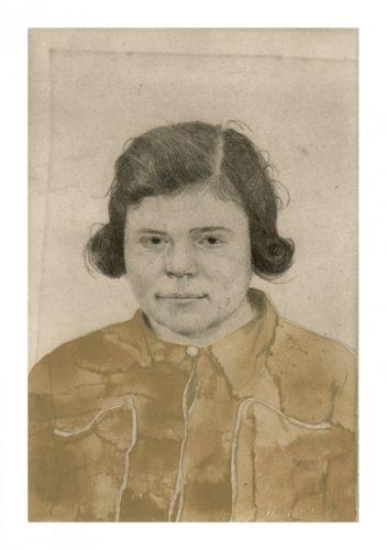 Untitled Portrait 1 by Sarah Ball at Sarah Ball