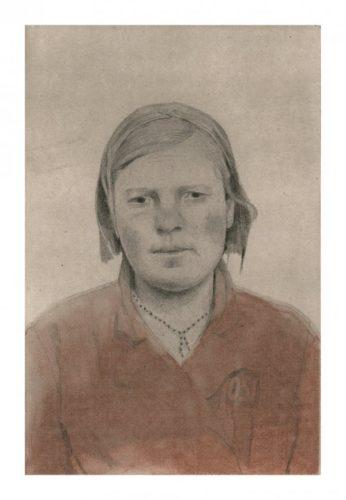 Untitled Portrait 6 by Sarah Ball at Sarah Ball