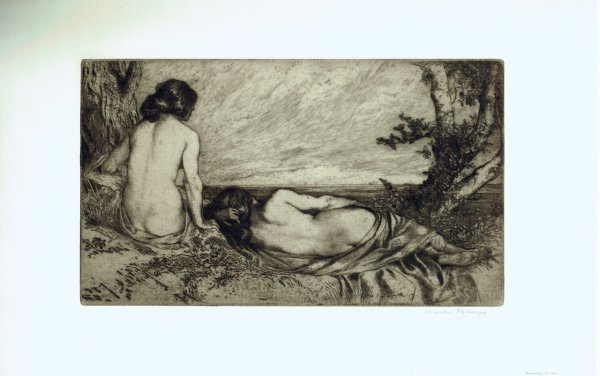 Nymphs By The Sea by Sir Charles Holroyd