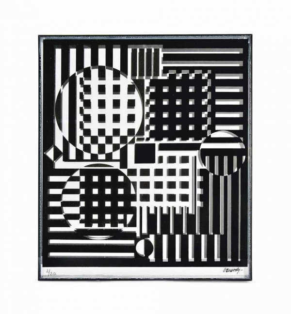 Pleionne by Victor Vasarely