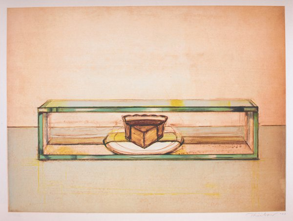 Pie Case by Wayne Thiebaud