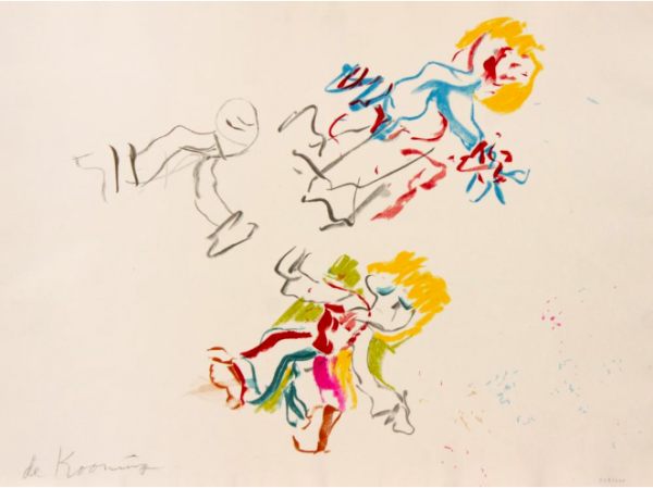 For Lisa by Willem De Kooning