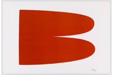 Red Orange III.3 by Ellsworth Kelly at