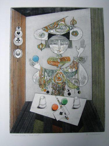 Taschenspieler by Alfred Finsterer