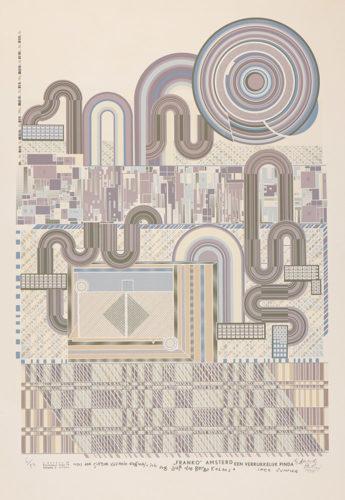 Franko Amsterd by Eduardo Paolozzi at ModernPrints.co.uk