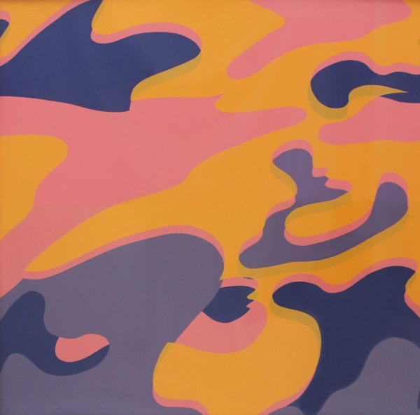 Camouflage (fs Ii.410) by Andy Warhol