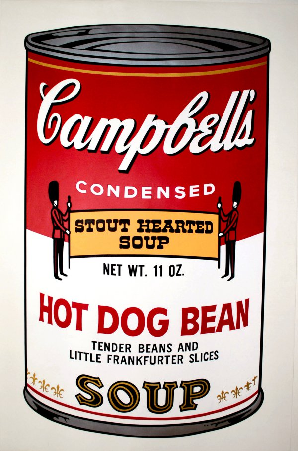 Campbell's Soup: Hot Dog Bean (fs Ii.59) by Andy Warhol