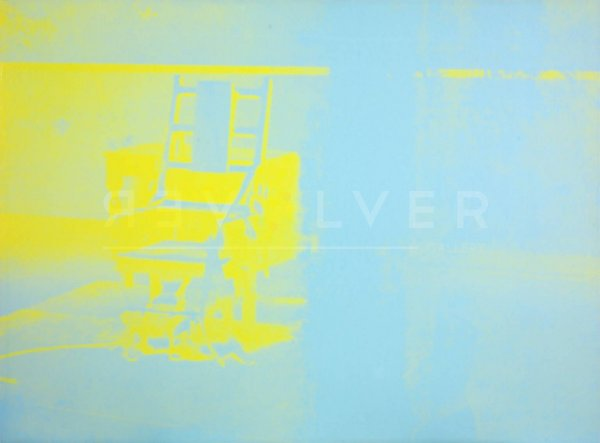 Electric Chair (fs Ii.77) by Andy Warhol