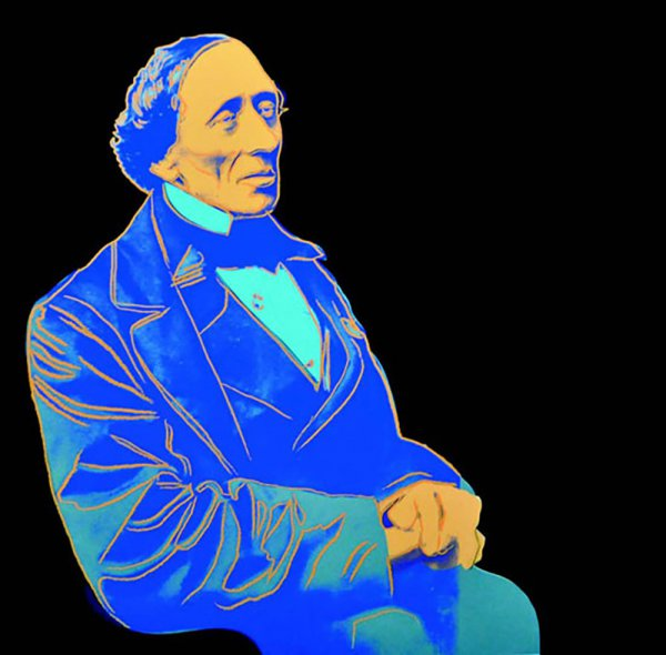 Hans Christian Andersen (fs Ii.398) by Andy Warhol
