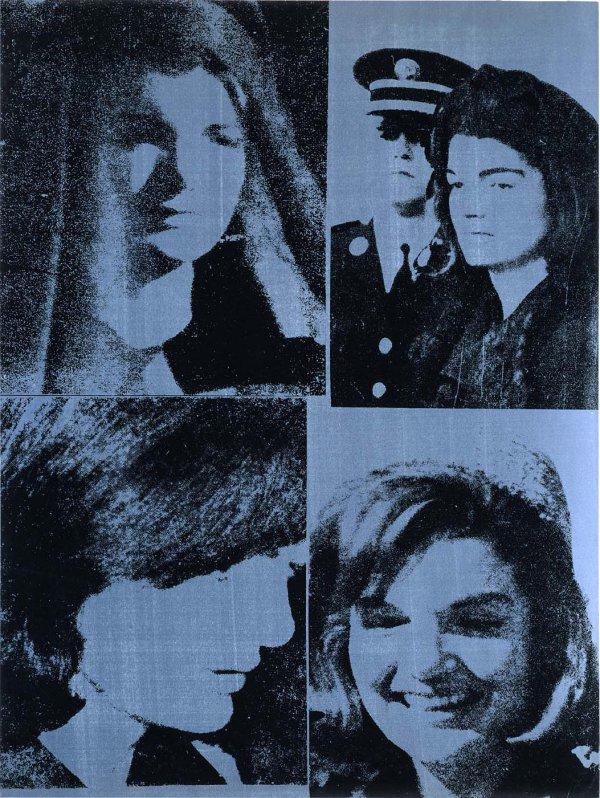 Jacqueline Kennedy Iii (jackie Iii) (fs Ii.15) by Andy Warhol