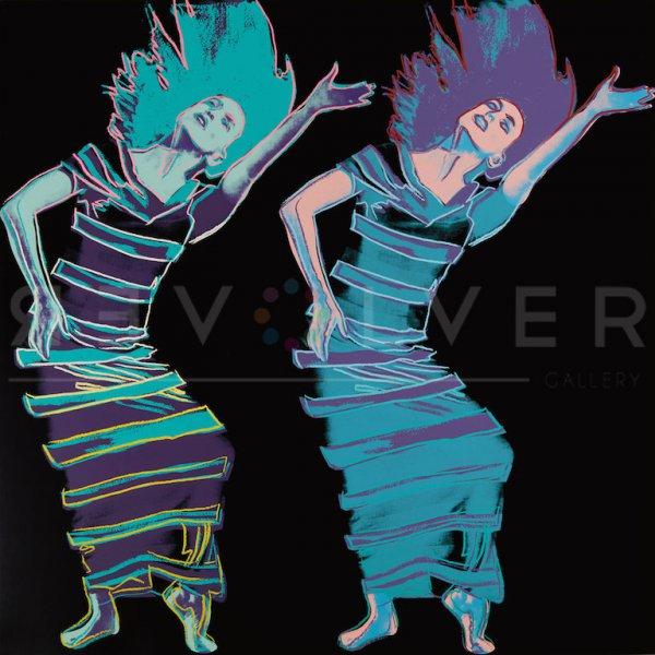 Satyric Festival Song (fs Ii.387) by Andy Warhol