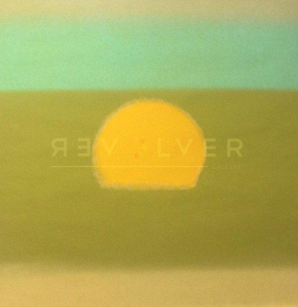 Sunset (yellow/green) (fs Ii.85) by Andy Warhol