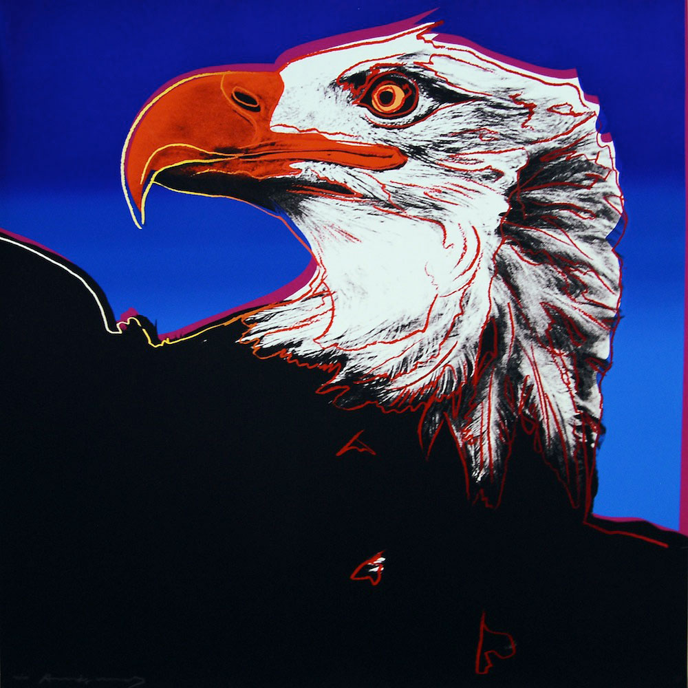 Bald Eagle (fs Ii.296) by Andy Warhol