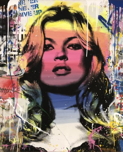 Kate Moss (2018) by Mr. Brainwash at Mr. Brainwash