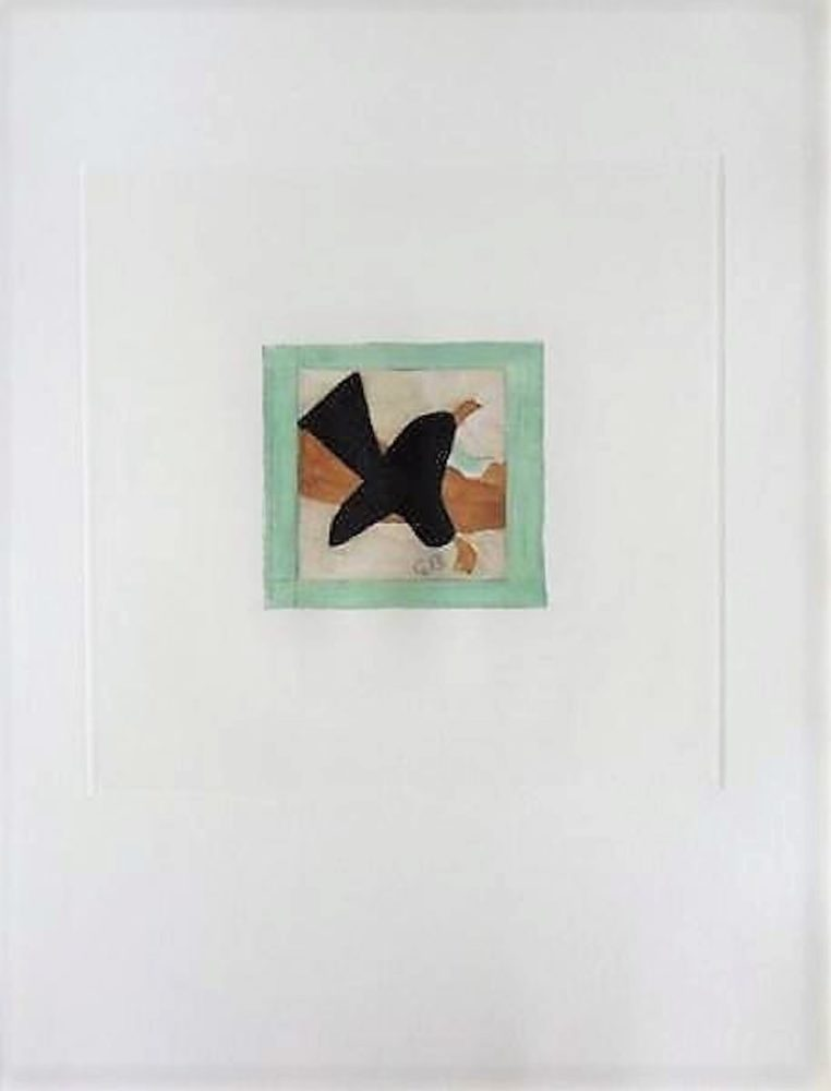 oiseau en vol George Braque