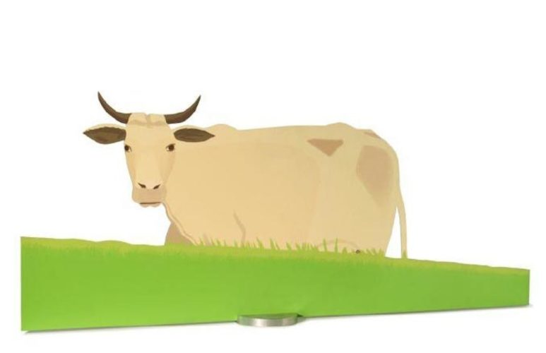 Cow by Alex Katz