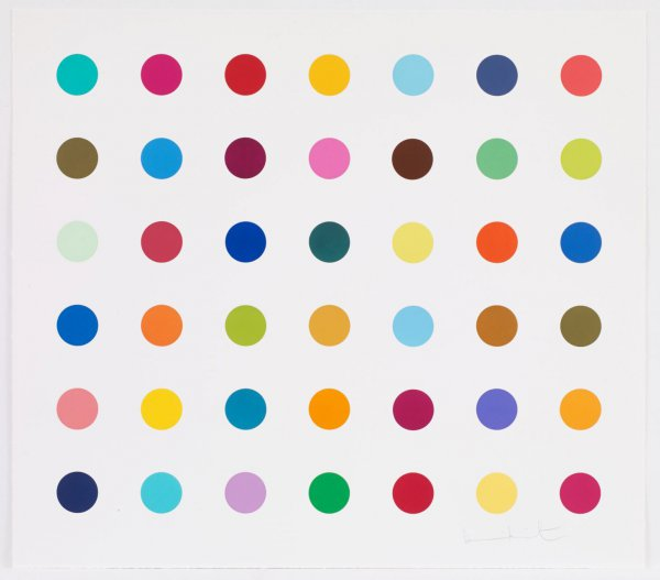 Lactulose by Damien Hirst