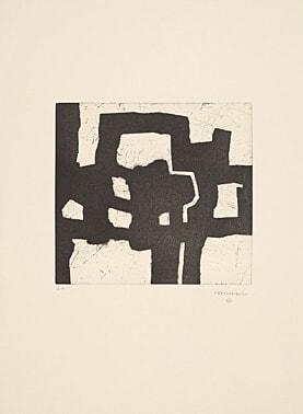 Homenaje A Picasso by Eduardo Chillida at Boisseree, Galerie (IFPDA)