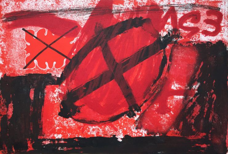 Cercle by Antoni Tapies at
