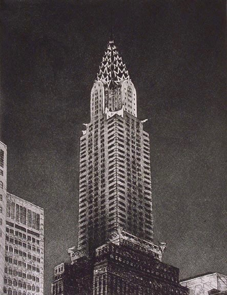 Chrysler Building by Frederick Mershimer