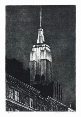 Empire State Building by Frederick Mershimer at