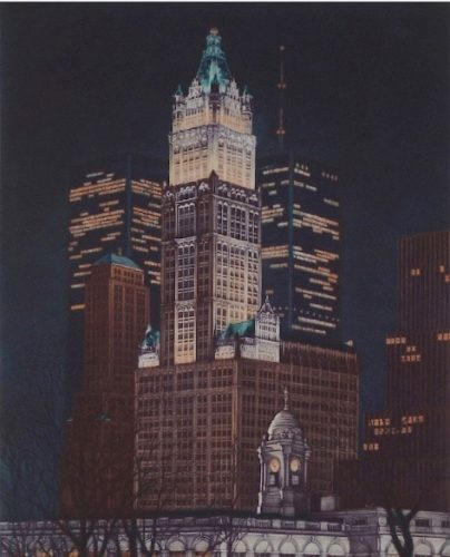 Woolworth Building by Frederick Mershimer