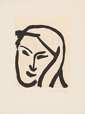 Bédouine au voile dénoué by Henri Matisse