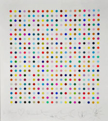 Hypothalamus Acetone Powder by Damien Hirst at Lougher Contemporary