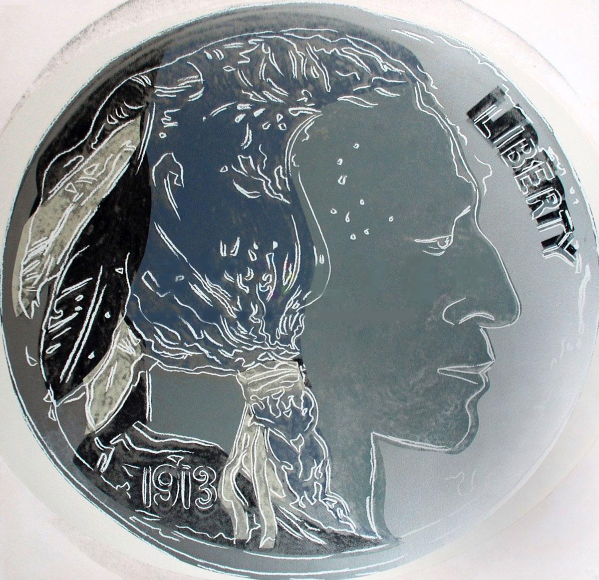 Indian Head Nickel (fs Ii.385) by Andy Warhol