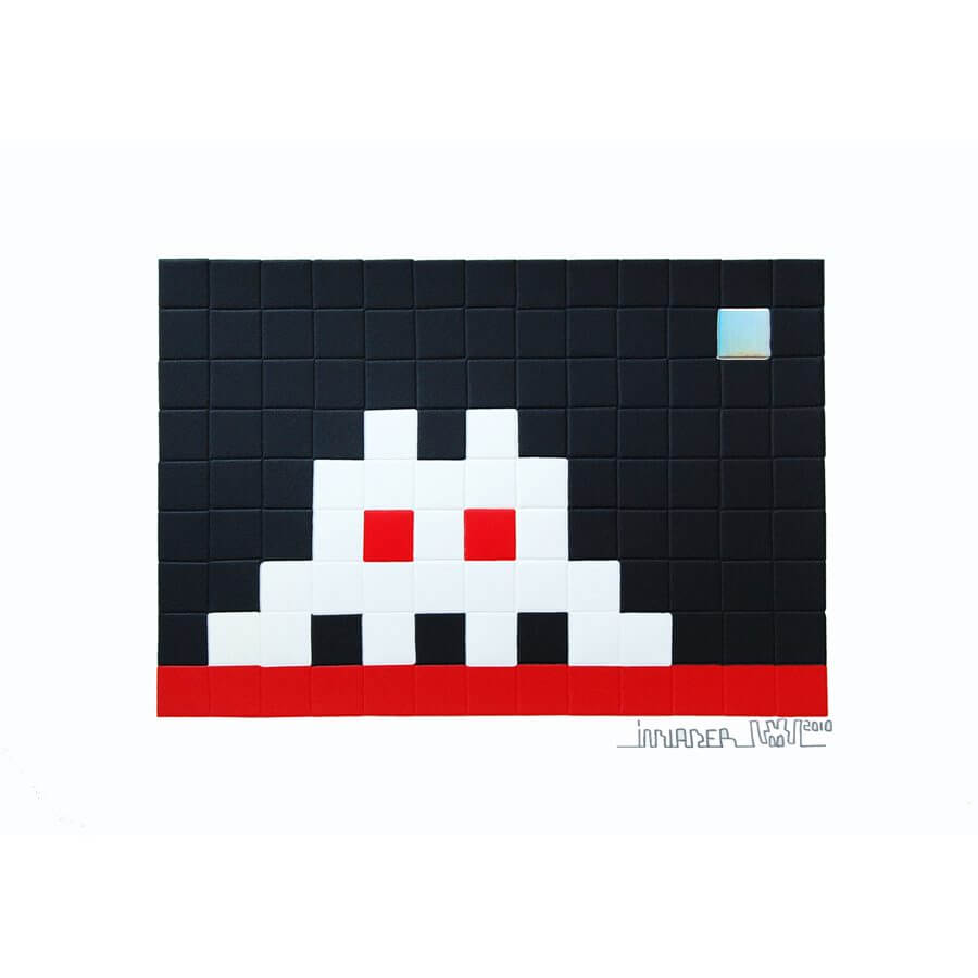 Home – Mars by Invader