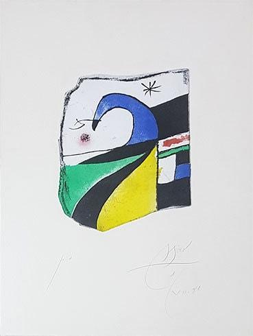 Gaudi X by Joan Miro at Grabados y Litografias.com