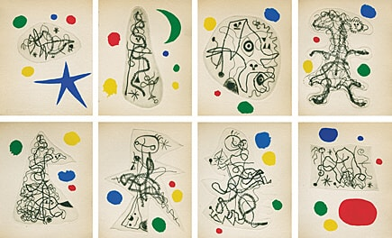 L'antitête by Joan Miro