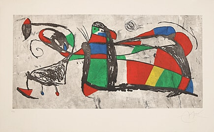 Tres Joan by Joan Miro at Joan Miro
