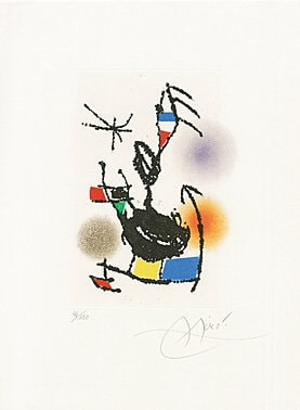 Untitled by Joan Miro at Joan Miro