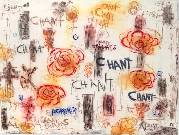 Chant/always by Joan Snyder