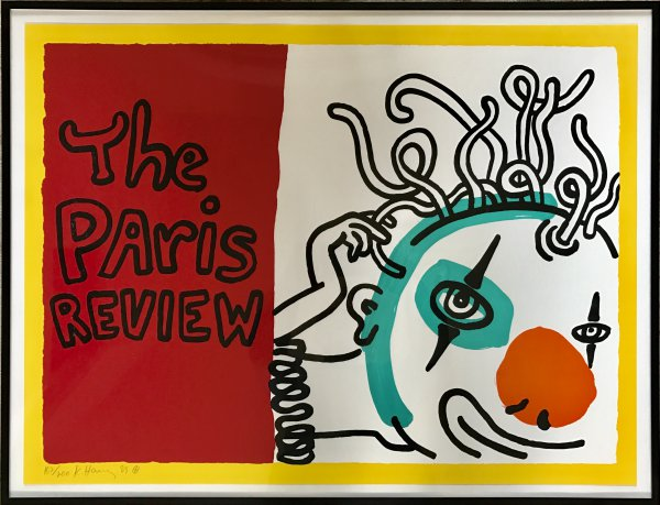 Paris Review by Keith Haring at Keith Haring