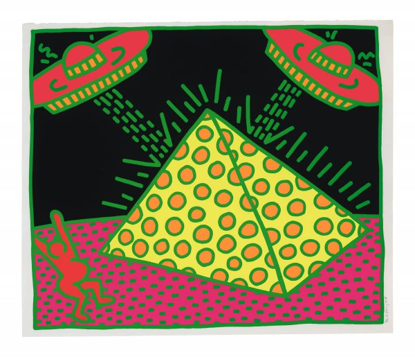 Plate II, from Fertility Suite 1983 by Keith Haring