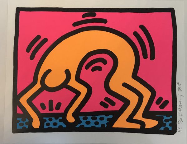 Pop Shop II, 1988 (2) by Keith Haring at Keith Haring