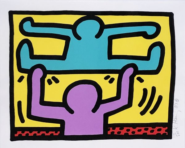 Pop Shop I (d) by Keith Haring