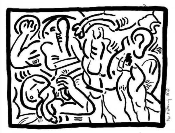 Untitled by Keith Haring at Keith Haring