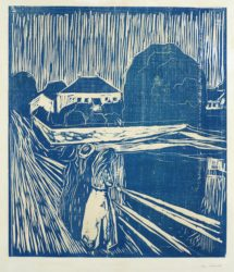 The Girls on the Bridge by Edvard Munch at
