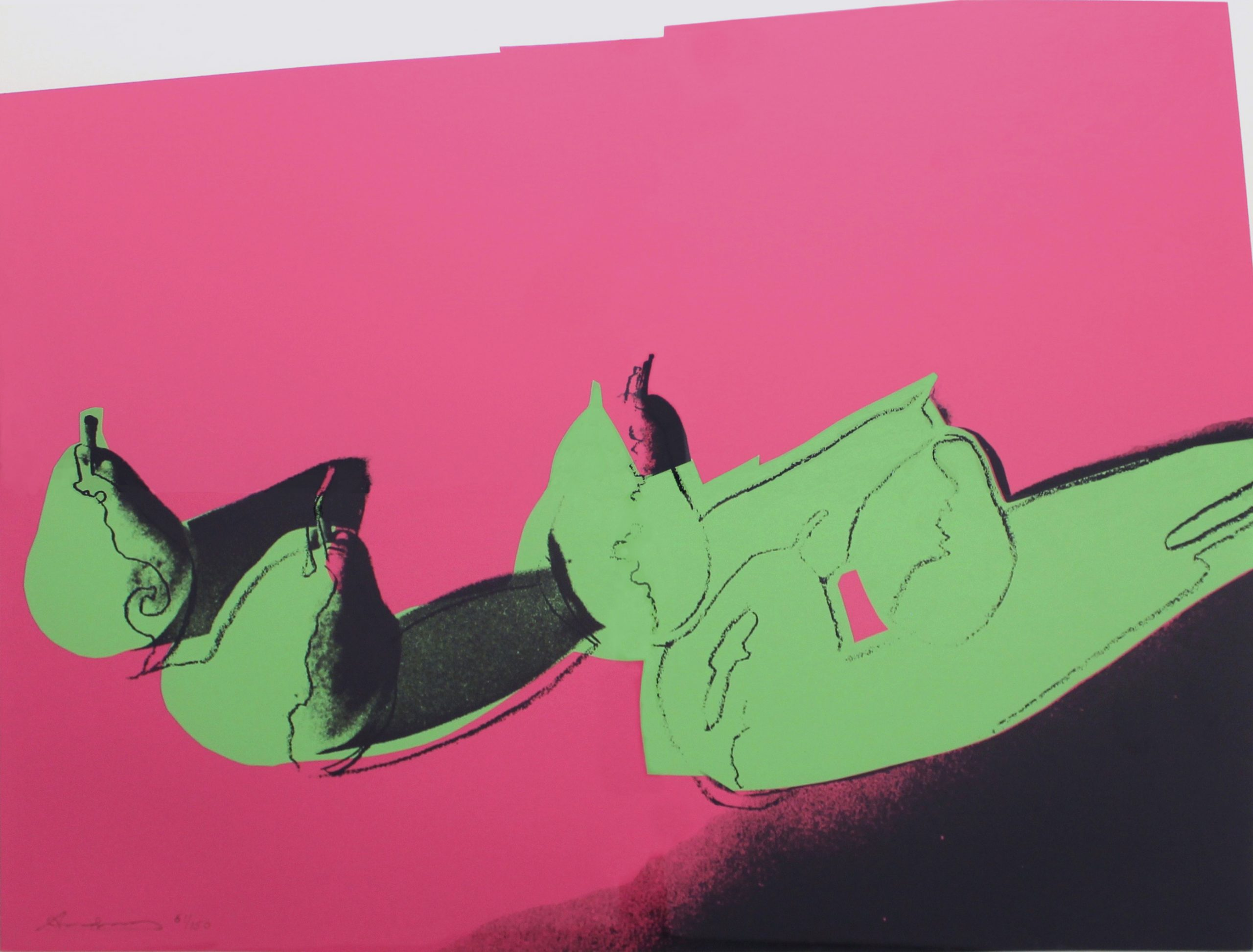 Space Fruit: Pears (fs Ii.203) by Andy Warhol