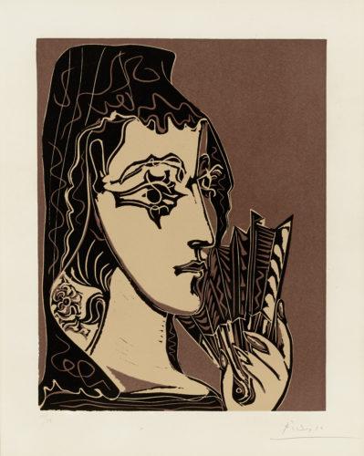 L'espagnole by Pablo Picasso