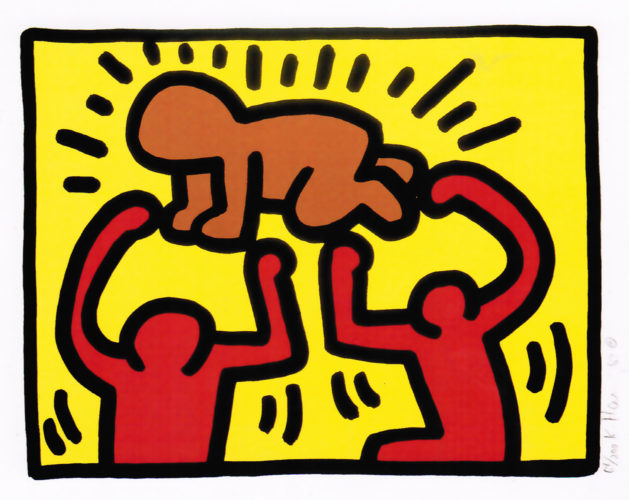 Pop Shop Iv (b) by Keith Haring