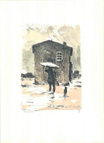 La Pioggia / The Rain by Renato Natali