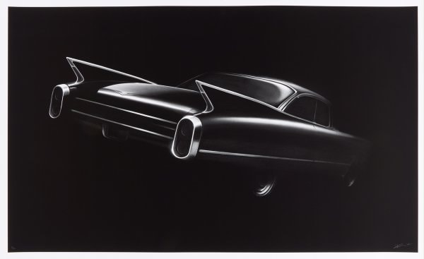 Cadillac by Robert Longo at Fine Art Mia