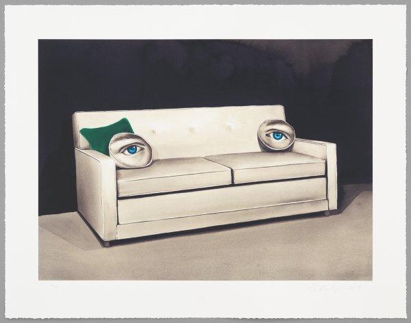 King Size Sleeper (Green Eyes) by Sean Mellyn