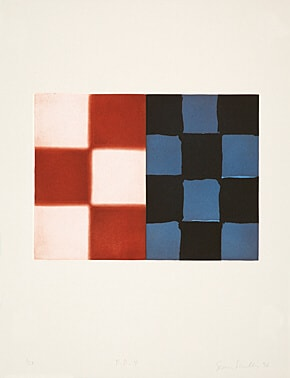 Barcelona Diptych 4 by Sean Scully at